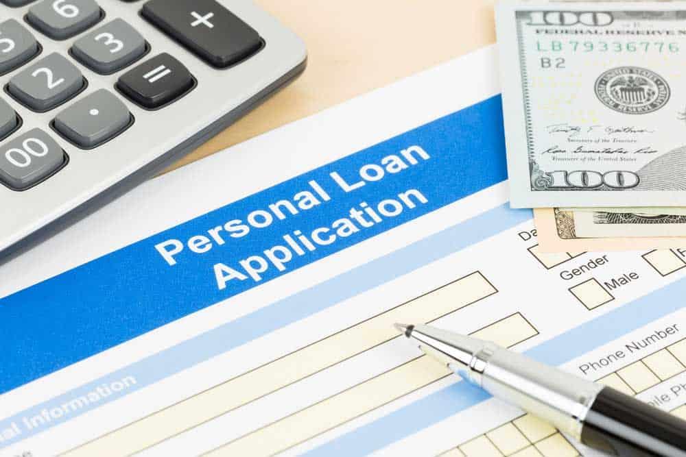 Personal loan application